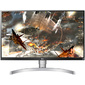 "Монитор LG 27"" 27UL650-W белый IPS LED 5ms 16:9 HDMI матовая HAS 1000:1 350cd 178гр / 178гр 3840x2160 DisplayPort Ultra HD 9.0кг"
