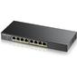 Интеллектуальный High Power PoE-коммутатор Zyxel Gigabit Ethernet с 8 разъемами RJ-45