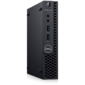 Dell Optiplex 3080 MFF / Core i3-10100T / 8GB / 512GB SSD / UHD 630 / keyb+mice / no wireless / Linux / VGA / 3Y Basic NBD