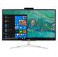 """Моноблок Acer Aspire C22-820 21.5"""" Full HD Cel J4005 2 4G b SSD 128 Gb UHDG 600 Windows 10 Home GbitEth WiFi BT 65W клавиатура мышь Cam серебристый черный 1920 x 1080"""