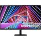 "Монитор Samsung 31.5"" S32A700NWI VA LED 16:9 3840x2160 5ms 2500:1 300cd 178 / 178 HDMI DP USB 60Hz HDR10 VESA Tilt Black"