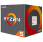 AMD YD2400C5FBBOX Ryzen X4 R5-2400G Raven Ridge 3600MHz AM4,  65W,  Radeon RX Vega
