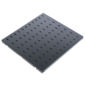 """CMO СВ-45-9005 Полка стационарная нагр.:45кг. 19"""" 450мм черный  (упак.:1шт)"""