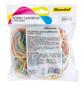 Резинки для купюр Silwerhof 189024 d=60мм 2мм 200гр ассорти пластиковый пакет