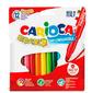 Фломастеры Carioca BRAVO 42755 6мм 12цв. блистер картонный