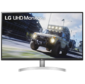 Монитор жидкокристаллический LG Монитор LCD 31.5'' 16:9 3840x2160 (UHD 4K) IPS,  nonGLARE,  350cd / m2,  H178° / V178°,  3000:1,  1.07B,  5ms,  2xHDMI,  DP,  USB-Hub,  Height adj,  Tilt,  Speakers,  2Y,  Black