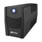 ИБП HIPER CITY-650,  line-interactive,  650ВА (365Вт),  4 розетки IEC320,  чёрный