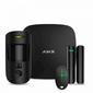 AJAX StarterKit Cam Black  (Стартовый комплект  (Интеллектуальная централь Хаб 2,  Датчик движения с фотоверификацией,  Датчик открытия,  брелок) чёрный)