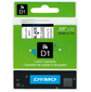 Картридж ленточный Dymo D1 S0720670 черный / прозрачный для Dymo