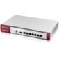 Zyxel Firewall ZyWALL USG FLEX 500,  Rack,  7 configurable  (LAN  /  WAN) ports GE,  1xSFP,  2xUSB3.0,  AP Controller  (8 / 72),  Device HA Pro