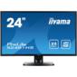 "Iiyama X2481HS-B1 23.6"" черный VA LED 6ms 16:9 DVI HDMI M / M матовая 1000:1 250cd 160гр / 160гр 1920x1080 D-Sub 4кг"