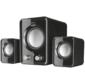Trust Speaker System Ziva,  2.1,  6W (RMS),  USB  /  Mini jack 3.5mm,  Black [21525]