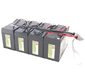 Battery replacement kit for SU1400RMXLI3U
