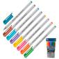 Набор шариковых ручек Pensan TRIBALL  (1003 / PVC8) 1мм серебристый ассорти чернила  (8шт)