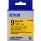 Лента термотрансферная Epson Tape LK-3YBW Strng adh Blk / Yell 9 / 9