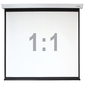 """Экран настенный с электроприводом Digis DSEF-1110  (Electra-F,  формат 1:1,  167"""",  308x311,  рабочая поверхность 300x300,  MW)"""