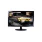"Samsung S24D332H 24"" Wide LCD LED monitor,  1ms (GtG),  250 cd / m2,  MEGA DCR  (static 1000:1),  170° / 160°,  D-sub,  HDMI,  Game Mode,  Flicker free,  black glossy"