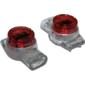 Соединитель проводов 0.4-0.9 мм,  изолированный  (скотчлок),  разветвительное соединение,  гель,  100 шт.