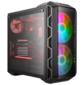 Cooler Master MasterCase H500 Mesh Iron Grey,  USB3.0x2,  USB2.0x2,  2x200 ARGBFan,  1x120Fan,  ATX,   w / o PSU