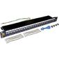 Патч-панель TWT  (LAN-PPL24S6) LANMASTER 24 порта. STP кат.6 1U