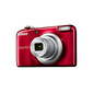 Фотоаппарат цифровой Nikon A10 красный,  16Mpx CCD,  zoom 5x,  HD720,  экран 2.6'',  2xAA