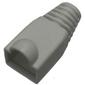 Защитные колпачки TWT  (TWT-BO-6.0-GY / 100) для кабеля 6.0мм cat.5. . серый. 100 шт. в пачке