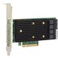 LSI HBA SAS9400-16i  (05-50008-00)  (PCI-E 3.1 x8,  LP,  Internal) Tri-Mode SAS / SATA / NVMe 12G,  16port  (4*int SFF8643)