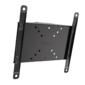 """Настенное плоское наклонное крепление для дисплеев 19-42"""",  VESA 100x100-200x200,  наклон - 0° / 7° / 12° / 15°,  миним. дистанция до стены - 52 мм,  нагрузка - 20 кг,  блокировка кражи планкой"""