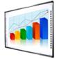 """Screen Media SM-8283 Инфракрасная интерактивная доска 80""""  (4:3),  разрешение 32768х32768,  рабочая область 1670x1175 мм,  габариты 172x122x4 см,  multi-touch 10 точек"""