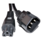 Powercom Cable IEC 320 С14 to IEC 320 C5  (324160)