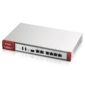 Межсетевой экран Zyxel VPN100,  Rack,  3xWAN GE  (2xRJ-45 и 1xSFP),  4xLAN / DMZ GE,  2xUSB3.0,  AP Controller  (4 / 68) с пониженным шифрованием