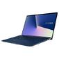ASUS Zenbook 15 UX533FN-A8033T Core i7-8565U / 16384Mb / 1тб SSD / GeForce MX150 2G / 15.6 FHD 1920x1080 AG / WiFi / BT / HD IR / RGB Combo Cam / Win10Home64 / 1.6Kg / Royal Blue / Sleeve + USB3.0 to RJ45 cab