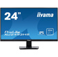 "Iiyama ProLite XU2493HS-B1 23.8"" черный IPS LED 4ms 16:9 HDMI M / M матовая 5000000:1 250cd 178гр / 178гр 1920 x 1080 D-Sub DisplayPort FHD USB 3.6кг"