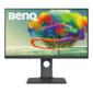 """Benq PD2700U IPS LED 27"""" 3840 x 2160 5ms 350cd / m2 20M:1 178° / 178° HDMI  DP1.2,  miniDP1.2,  USB 3.1 x 2 speakers HAS Pivot Tilt Swivel Black"""