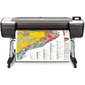 """HP DesignJet T1700dr 44"""",  2400x1200dpi,  26spp (A1),  128Gb (virtual),  HDD500Gb,  host USB type-A / GigEth, stand, sheet feed, 2 rollfeed, autocutter,  TouchScreen,  6 cartridges / 3 heads,  2y warr"""