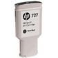 HP 727 черный матовый 300-ml