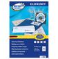 Этикетки Europe100 ELA001-18 A4 38x21.2мм 65шт на листе / 70г / м2 / 18л. / белый матовое самоклей. универсальная