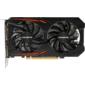 Gigabyte PCI-E GV-N105TOC-4GD nVidia GeForce GTX 1050TI 4096Mb 128bit GDDR5 1316 / 7008 DVIx1 / HDMIx1 / DPx1 / HDCP Ret