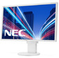 "NEC EA224WMi 21.5"",  e-IPS; LED backlight; 1920x1080; 16:9; 0, 247mm; 14 ms; 250cd / m2; 1000:1; 178 / 178; Hight adj.:110; Tilt, Pivot; D-Sub,  Disp.Port,  DVI-D,  Internal PS,  1+1W speakers,  TCO5,  Silv / White"