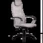 Кресло Metta BK 8 Pl  (пятилучие пластик)) 24-Светло-серый 90кг