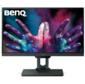 """BENQ 25"""" PD2500Q IPS LED,  2560x1440,  16:9,  14  (4)ms ,  350cd / m2,  20M:1,  178° / 178°,  HDMI,   DP1.2,  miniDP1.2,  USB 3.0*4,  speakers,  HAS,  Pivot,  Tilt,  Black"""