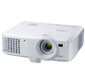 Canon projector LV-WX320,  DLP,  1280x800  (WXGA),  3200 Lm  (2550 Lm Eco Mode),  10000:1,  4000 Hrs  (6000 Hrs Eco Mode),  USB-B,  HDMI 1.3,  LAN,  2, 5 kg