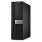 Dell Optiplex 5050 SFF i5-6500  (3, 2GHz), 4GB  (1x4GB) DDR4, 1TB  (7200 rpm), Intel HD 530, Linux, TPM, DVD, 3 years NBD