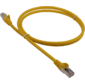 Патч-корд LANMASTER LSZH FTP кат.5e,  10 м,  желтый