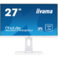 "Монитор Iiyama 27"" XUB2792QSU-W1 белый IPS LED 5ms 16:9 DVI HDMI M / M матовая HAS Pivot 350cd 178гр / 178гр 2560 x 1440 Display Port QHD USB 6.1кг"