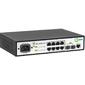 SNR Управляемый гигабитный коммутатор уровня 2,  8 портов 10 / 100 / 1000Base-T,  2 порта 100 / 1000BASE-X  (SFP)