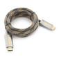 Cablexpert CC-P-HDMI04-1M Кабель HDMI,  серия Platinum,  1 м,  v2.0,  M / M,  плоский,  позол.разъемы,  металлический корпус,  нейлоновая оплетка,  блистер