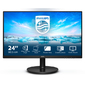 "Philips 23, 8"" 241V8L 1920x1080 75Гц VA LED 16:9 4ms D-Sub HDMI Mega Infinity DCR 3000:1 178 / 178 250cd Tilt Black A"