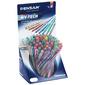 Набор шариковых ручек Pensan MY-TECH (2240/S60R) 0.7мм 8цв. прозрачный ассорти чернила (60шт)