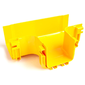 Т-соединитель оптического лотка 120 мм,  монтаж без соединителей,  желтый